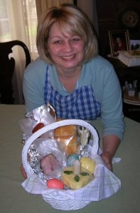 """Jema"" with Rusyn Easter Basket"